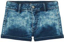 FIND Acid Wash Pantaloncini Donna, Blu (Mid Blue), 42 (Taglia produttore: 14)