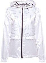 ESPRIT Sports 018ei1g002-Sportiv, Giacca Donna, Bianco (White 100), 44 (Taglia Produttore: Medium)