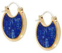 Pamela Love - Mojave lazuli lapis earrings - women - Brass - OS - METALLIC