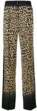 Etro - Pantaloni con stampa leopardata - women - Silk - 38, 40, 42, 44, 46, 48 - BROWN