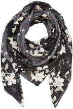 PIECES Pcnallie Square Scarf, Cappello in Felto Donna, Multicolore (Black), Taglia unica
