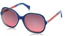 Just Cavalli JC653S, Occhiali da Sole Unisex-Adulto, Rosso (Blue/Red), Taglia unica (Taglia Produttore: One size)