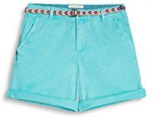 ESPRIT 047ee1c005, Shorts Donna, Verde (Aqua Green), 36