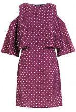 Flo Double Layer Polka Dot Shift Dress