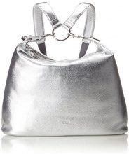 Bree Brigitte 6 - Borse a spalla Donna, Argento (Silver), 10x38x43 cm (B x H T)