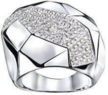 Swarovski FASHIONRING - Anello, con Cristallo, placcato platinum