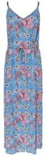 ONLY Printed Maxi Dress Women Blue