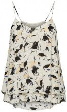 SELECTED Printed - Strap Top Women Beige