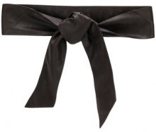 Orciani - Cintura con fiocco - women - Leather - OS - BROWN