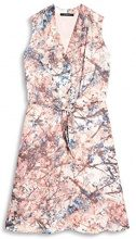 ESPRIT Collection 087eo1e030, Vestito Donna, Multicolore (Pastel Grey 050), 40
