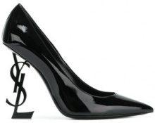Saint Laurent - Pumps 'Opyum' - women - Patent Leather/Leather - 36, 36.5, 37, 37.5, 38.5, 39 - Nero