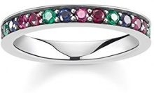 THOMAS SABO Piercing ad anello argento - TR2144-322-7-52
