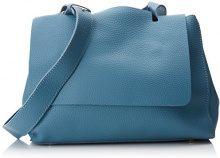 SwankySwans Kelly 2 In 1 Shoulder Handbag - Borse a spalla Donna, Blu (Light Blue), 12x24x30 cm (W x H x L)