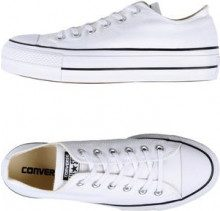 CONVERSE ALL STAR CTAS OX LIFT CLEAN CORE CANVAS - CALZATURE - Sneakers & Tennis shoes basse - su YOOX.com