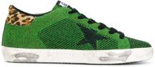 Golden Goose Deluxe Brand - Sneakers 'Superstar' - women - Leather/Polyester/rubber/Suede - 41, 36, 37, 38, 40 - GREEN
