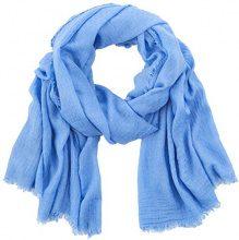 ESPRIT Accessoires 038ea1q003, Sciarpa Donna, Blu (Blue Lavender 425), Taglia unica