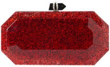 Marchesa - Beth clutch bag - women - Acrylic - OS - RED