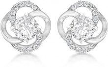 Tuscany Silver Orecchini a perno Donna argento Argento sterling 925 zirconia_cubica rotonda - 8.59.0579