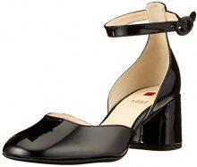 Högl 5-10 4724 0100, Scarpe con Cinturino alla Caviglia Donna, Nero (Schwarz), 37 EU