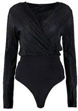Olivia Pleated Wrap Bodysuit