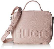 HUGO Mayfair Box - Borse a spalla Donna, Rosa (Light/Pastel Pink), 7x16.5x20 cm (B x H T)