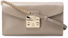 Furla - Metropolis pouch - women - Leather/Viscose/Nylon - One Size - GREY