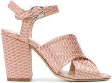 Strategia - Sandali con cinturino - women - Leather/Polyester - 36, 37, 37.5, 38 - PINK & PURPLE
