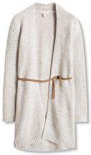 ESPRIT 106EE1I019, Cardigan Donna, Grigio (Pastel Grey 5), 38 (Taglia Produttore: Medium)