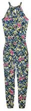 edc by Esprit 058cc1l007, Tuta Intera Donna, Multicolore (Blue 430), Small