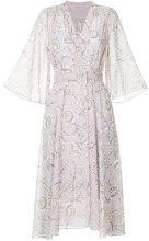 Cityshop - floral print dress - women - Polyester - OS - PINK & PURPLE