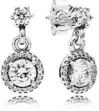 Donne-orecchini Pandora l''eleganza classica 925 argento zircone - bianco 290594CZ