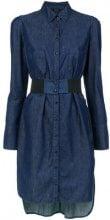 Tufi Duek - denim shirt dress - women - Cotton/Lyocell - 38, 42 - BLUE