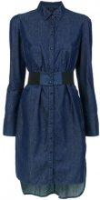 Tufi Duek - denim shirt dress - women - Cotone/Lyocell - 38, 42 - BLUE