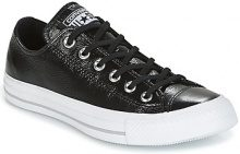 Scarpe Converse  CHUCK TAYLOR ALL STAR CRINKLED PATENT LEATHER OX BLACK/BLACK/WHI