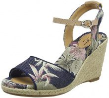 Pepe Jeans London Shark California, Espadrillas Donna, Blu (Dk Denim), 39 EU