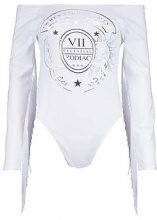 Milly Bardot Tassle Sleeve Bodysuit