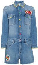 Mira Mikati - Tuta intera - women - Cotton/Polyester - 36, 42, 34, 38, 40 - BLUE