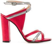 Marc Ellis - Sandali bicolore - women - Leather - 37, 38, 39, 40 - RED