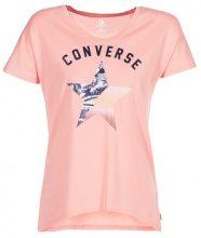 T-shirt Converse  CONVERSE GRADIENT STAR FILL FEMME TEE