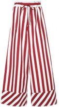 G.V.G.V. - Pantaloni gamba ampia - women - Polyester - 36 - RED