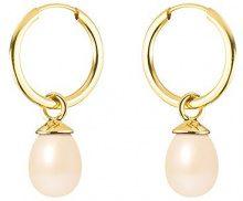 Pearls Colors &, a cerchio, in oro giallo 9 kt, con perla d'acqua dolce, AM-PK-P5J 9BOC 133