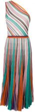 Missoni - Abito monospalla - women - Silk/Polyamide/Polyester/Rayon - 40, 42 - MULTICOLOUR