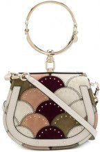 Chloé - small Nile shoulder bag - women - Leather/Suede - OS - NUDE & NEUTRALS