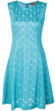 Missoni - Vestito in lamé - women - Viscose/Cupro/Polyester/Polyamide - 46 - Blu