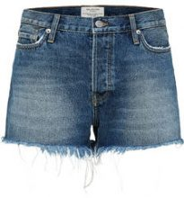 SELECTED Ripped - Denim Shorts Women Blue