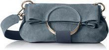 Liebeskind Berlin- Ravenna Amalfi, Pochette da giorno, Donna Blu (Blue Grey), 12x32x26 cm (B x H x T)