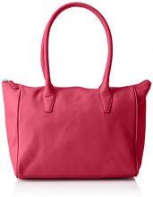 BREESylvie 1, sm, shou. bag Special - Borse a Tracolla Donna, Rosa (Pink (fuchsia 130)), 42x14x26 cm (B x H x T)
