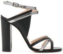 Marc Ellis - Sandali bicolore - women - Leather - 36, 37, 38, 39, 40 - Nero