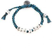 Venessa Arizaga - 'Bff4eva' bracelet - women - Other fibres - OS - BLUE