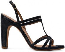 Chie Mihara - Sandali 'Eiden' - women - Leather/rubber - 36, 37, 38, 39, 40 - BLACK